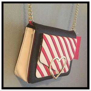 NWT Betsey Johnson Crossbody Bag